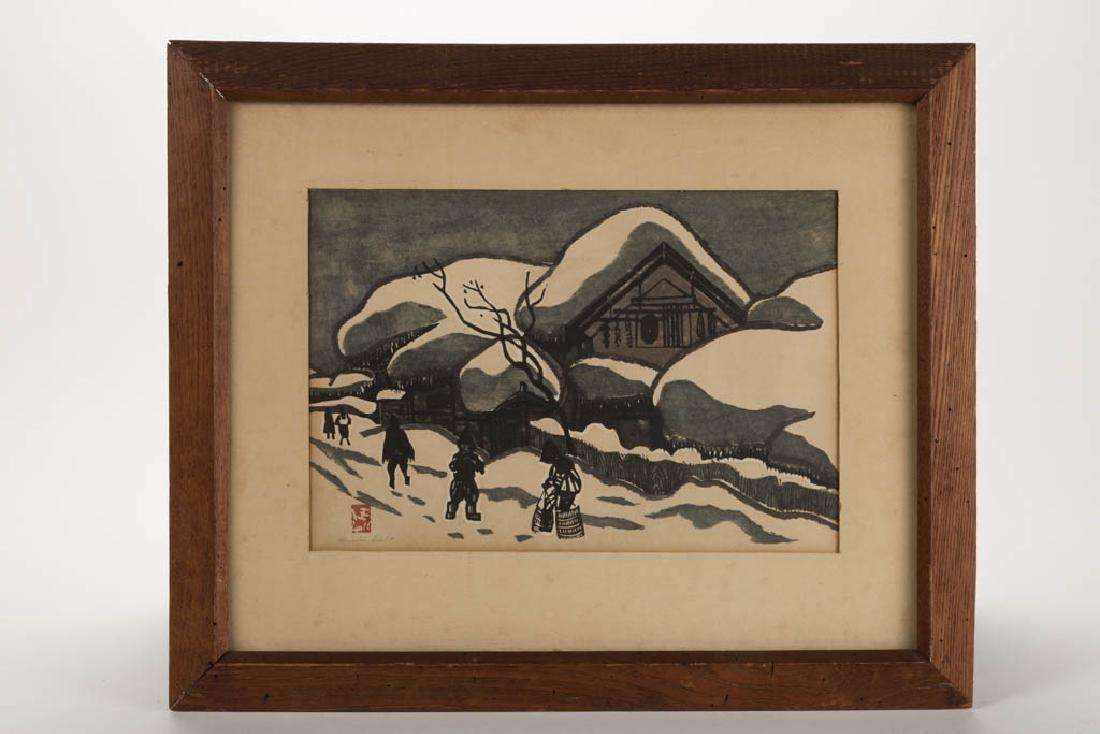 KIYOSHI SAITO (JAPANESE, 1907-1997) SOSAKU-HANGA