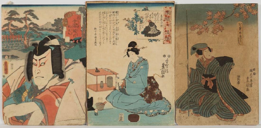 KUNISADA UTAGAWA / TOYOKUNI III (JAPANESE, 1786-1844)