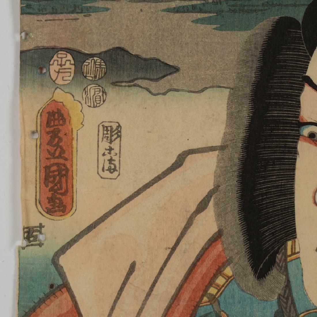 KUNISADA UTAGAWA / TOYOKUNI III (JAPANESE, 1786-1844) - 3