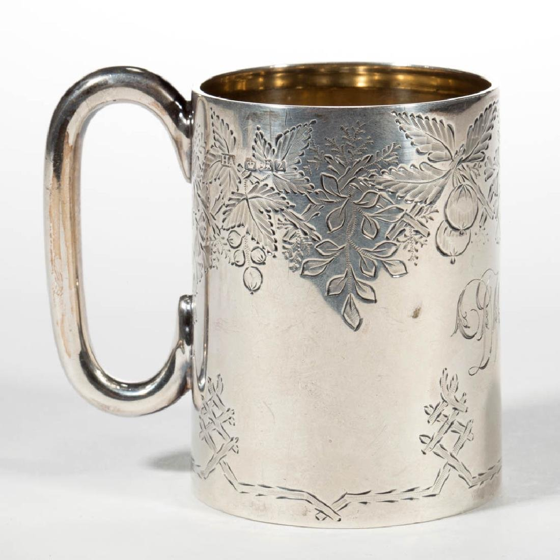 ENGLISH STERLING SILVER CHILD'S MUG / CUP