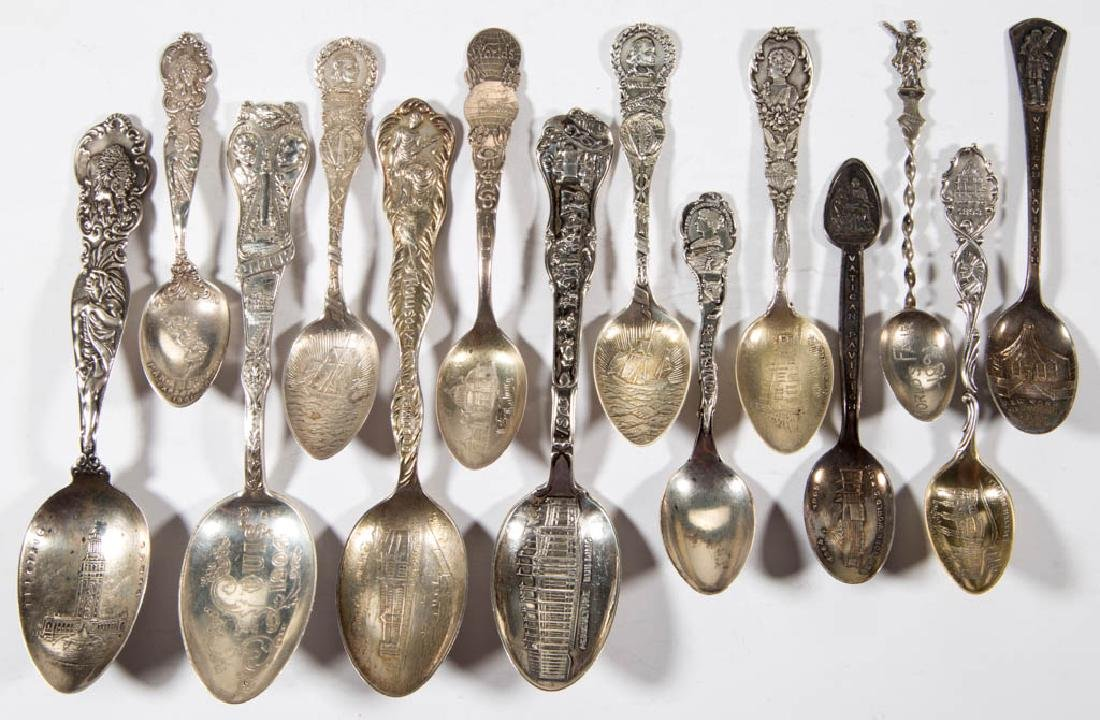 ASSORTED WORLD'S FAIR / EXPOSITION STERLING SILVER