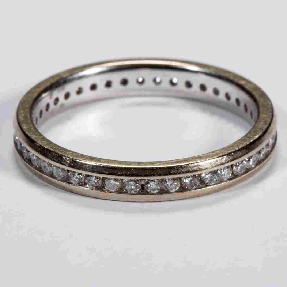 VINTAGE 14K GOLD AND DIAMOND LADY'S BAND