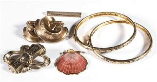 ASSORTED JEWELRY LOT OF FIVE PIECES
