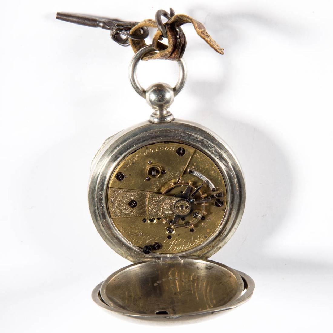 AMERICAN WATCH CO. / WALTHAM MODEL 1857 11-JEWEL MAN'S - 2