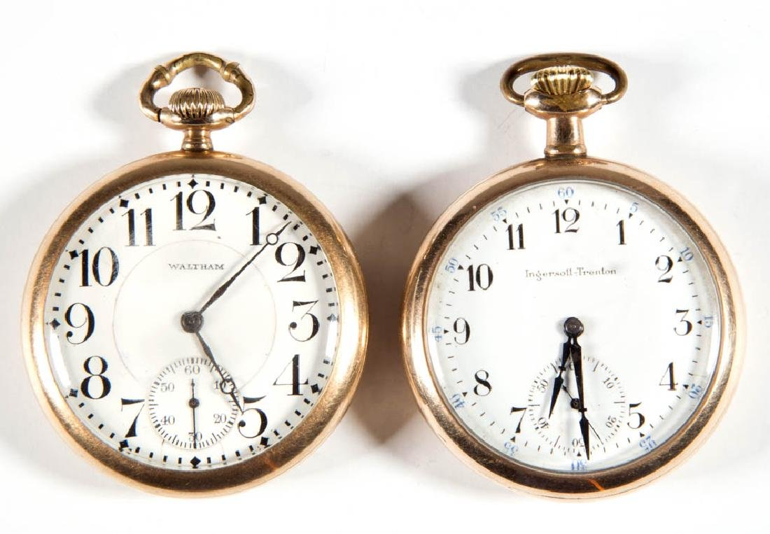 WALTHAM 19-JEWEL MODEL 1908 MAN'S POCKET WATCH