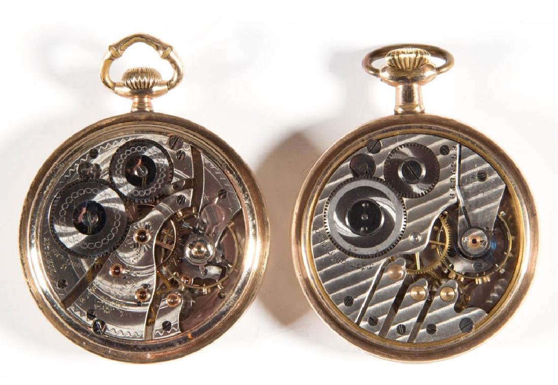 WALTHAM 19-JEWEL MODEL 1908 MAN'S POCKET WATCH - 3