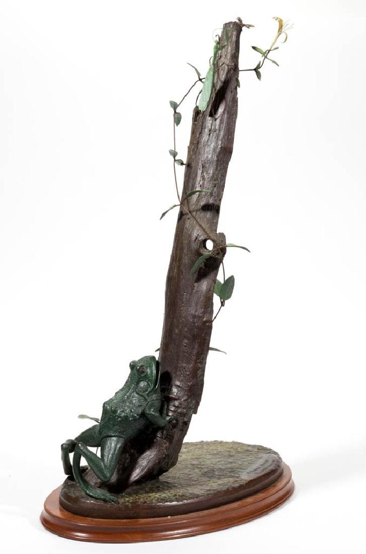 ANDRE HARVEY (AMERICAN, B. 1941) BRONZE FIGURAL GROUP