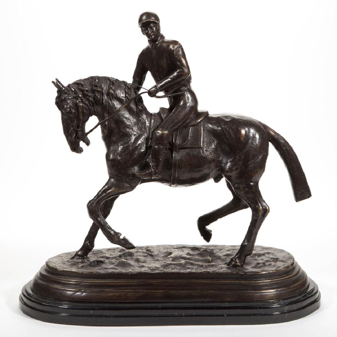 AFTER PIERRE JULES MENE (FRENCH, 1810-1879) BRONZE