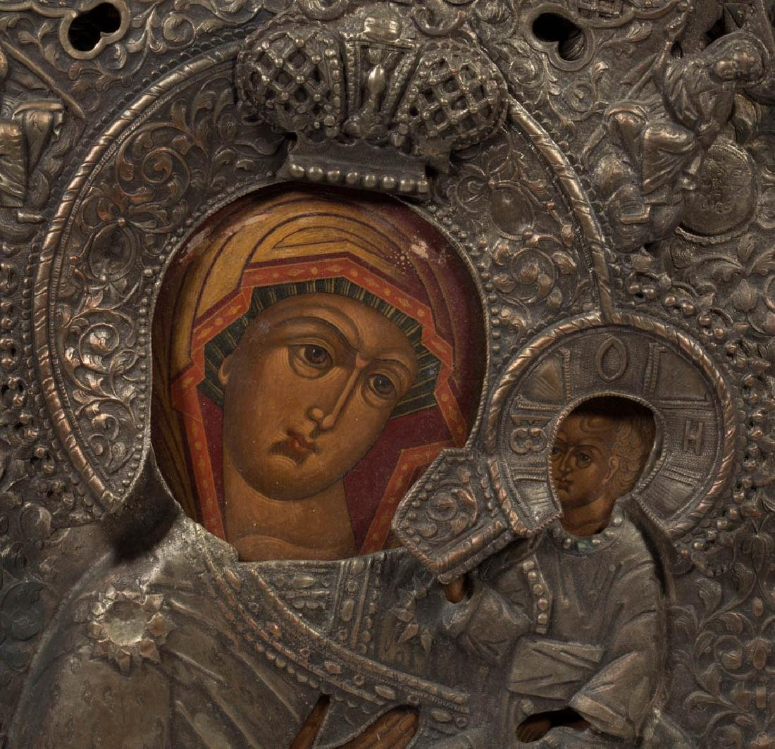 MADONNA AND CHILD RUSSIAN ICON - 2