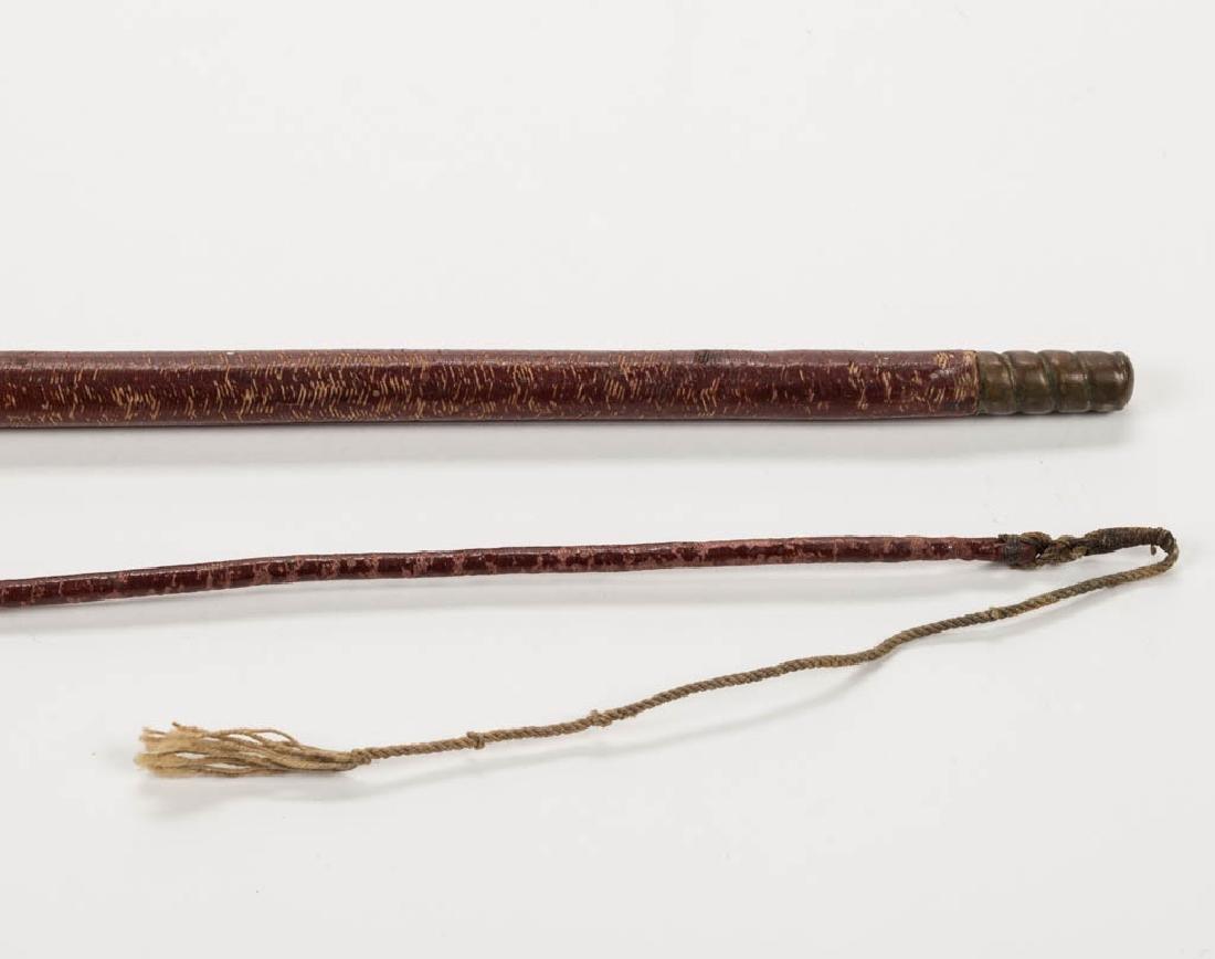 OHIO BUGGY WHIP CANE / WALKING STICK - 3