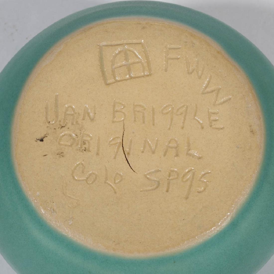 VAN BRIGGLE ART POTTERY ARTICLES, LOT OF FIVE - 2