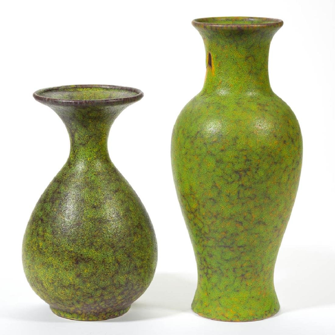 ROYAL HAEGER LIME PEEL MID-CENTURY POTTERY ARTICLES,