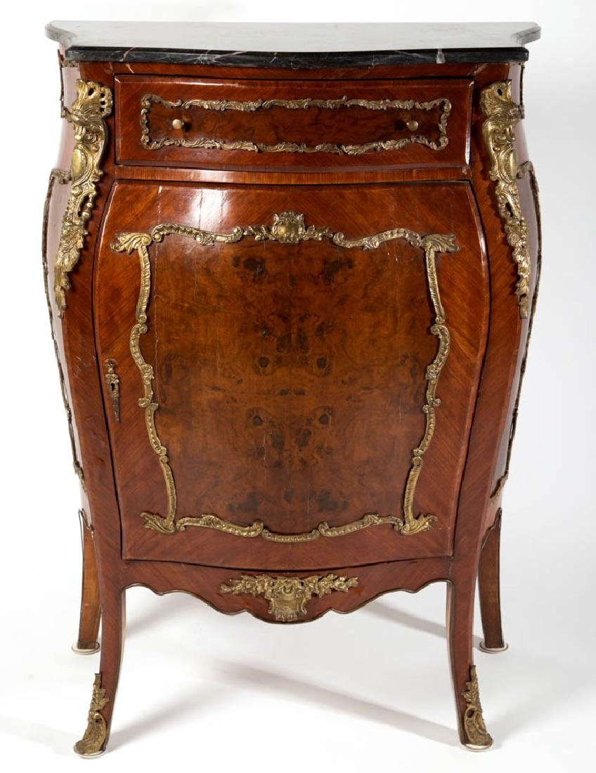 CONTINENTAL LOUIS XV-STYLE SIDE CABINET