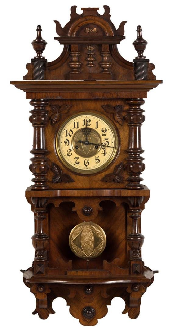 GUSTAV BECKER GERMAN WALL CLOCK