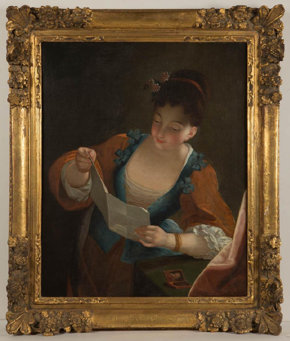 CONTINENTAL SCHOOL (19TH CENTURY) PORTRAIT OF A WOMAN