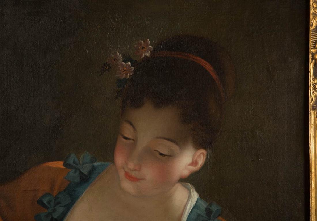 CONTINENTAL SCHOOL (19TH CENTURY) PORTRAIT OF A WOMAN - 2
