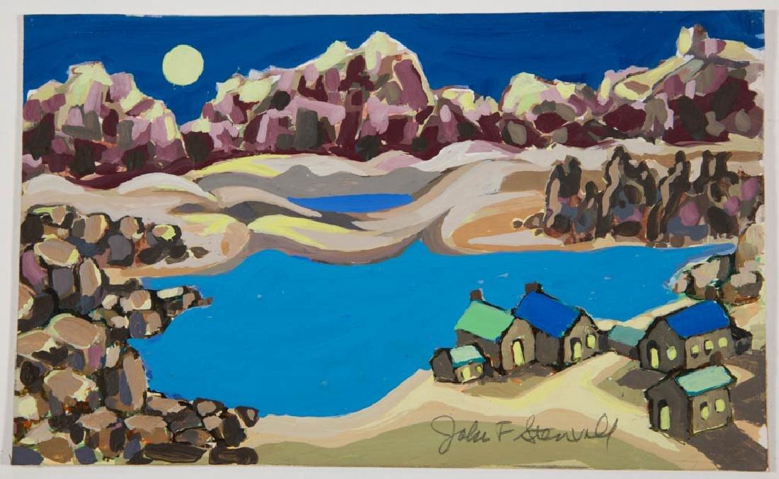 JOHN FRANCIS STENVALL (AMERICAN, 1907-1998) WESTERN