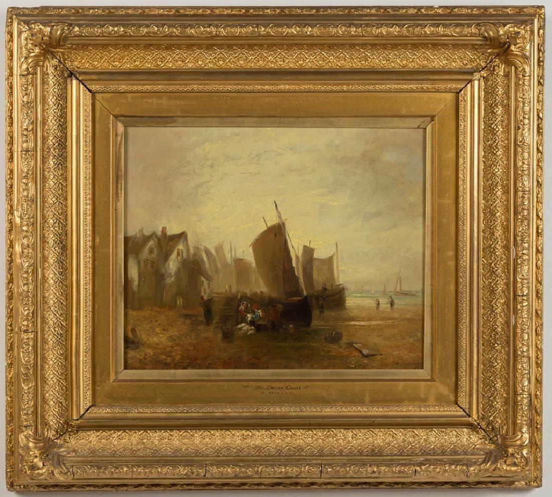 D. MIKLEY (BRITISH, 19TH CENTURY) COASTAL LANDSCAPE