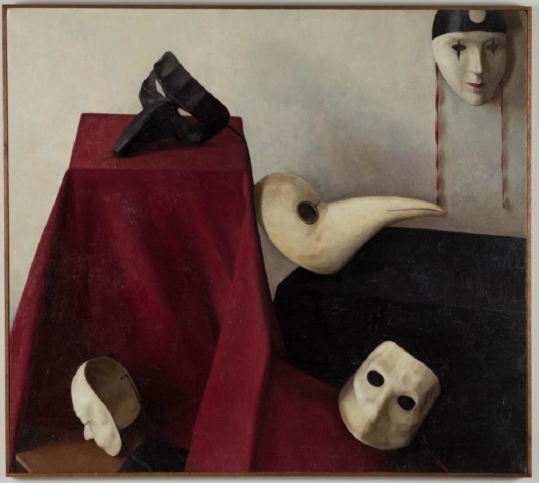 EPHRAIM RUBENSTEIN (AMERICAN, B. 1956) PAINTING