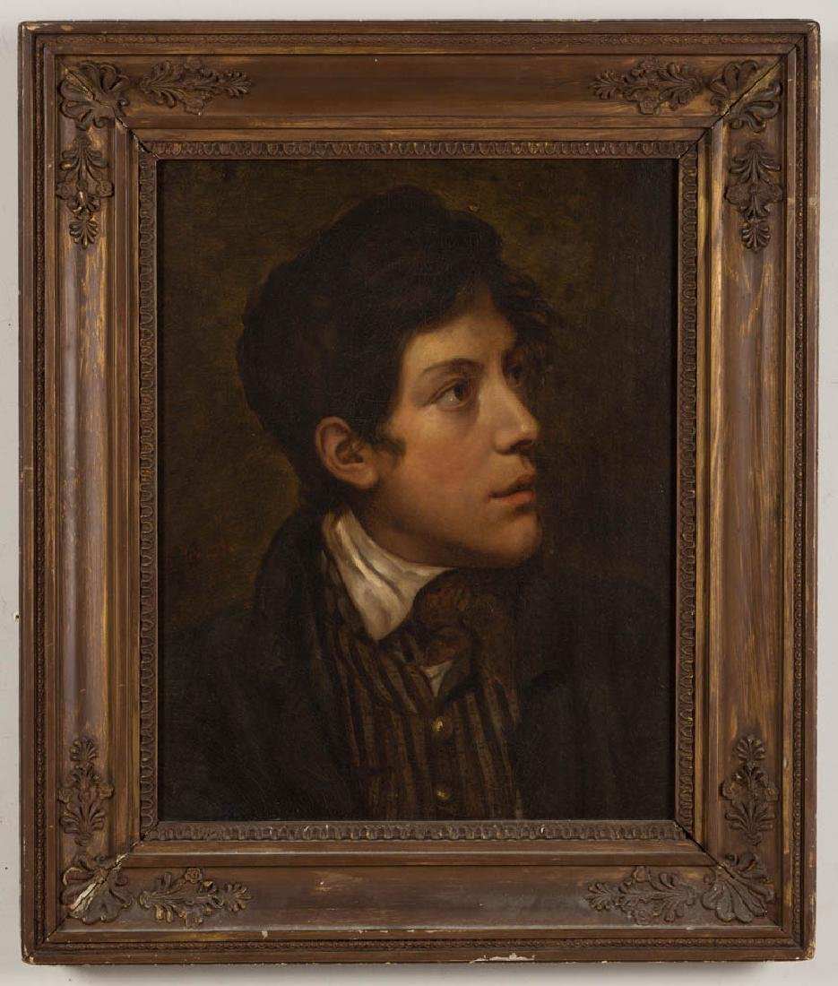 BRITISH OR CONTINENTAL SCHOOL (19TH CENTURY) PORTRAIT