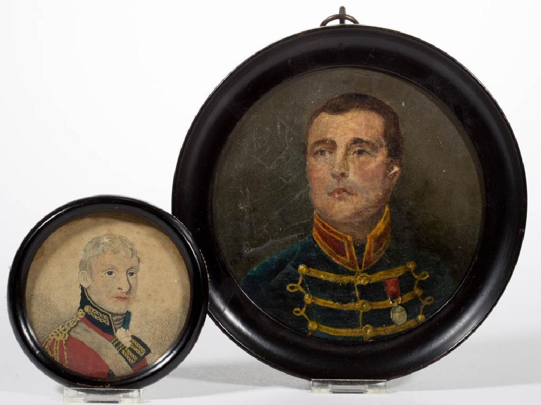 CONTINENTAL SCHOOL (19TH CENTURY) MILITARY PORTRAIT