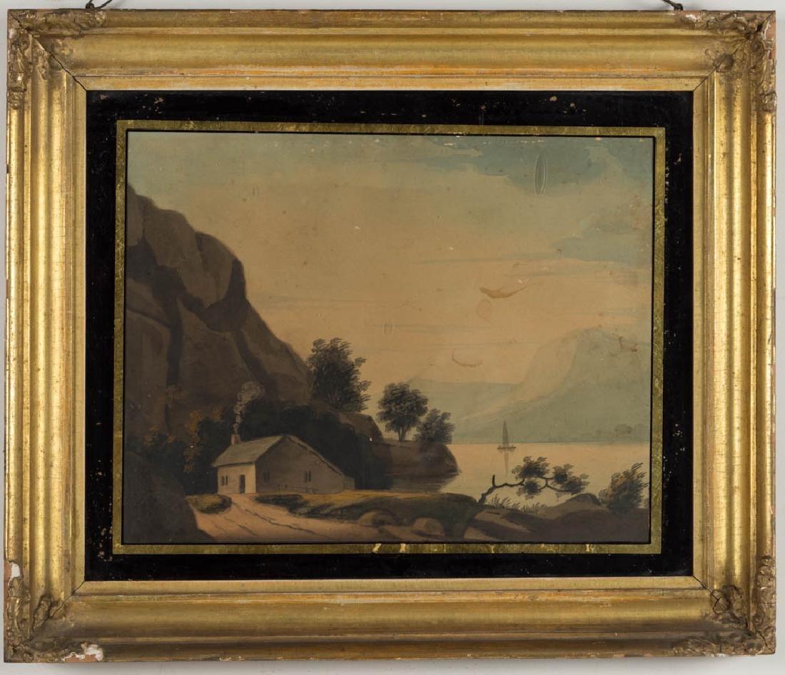 PAIR OF BRITISH SCHOOL (19TH CENTURY) LANDSCAPE - 2