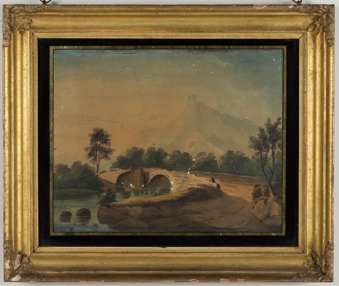 PAIR OF BRITISH SCHOOL (19TH CENTURY) LANDSCAPE - 3