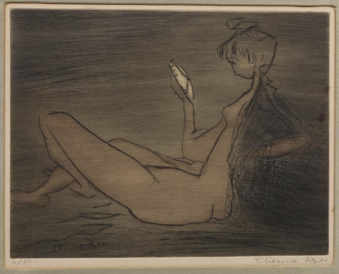 ETIENNE RET (FRENCH, 1900-1996) ETCHING