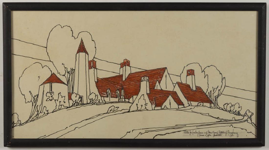 BENNO JANSSEN (AMERICAN, 1874-1964) ARTS & CRAFTS
