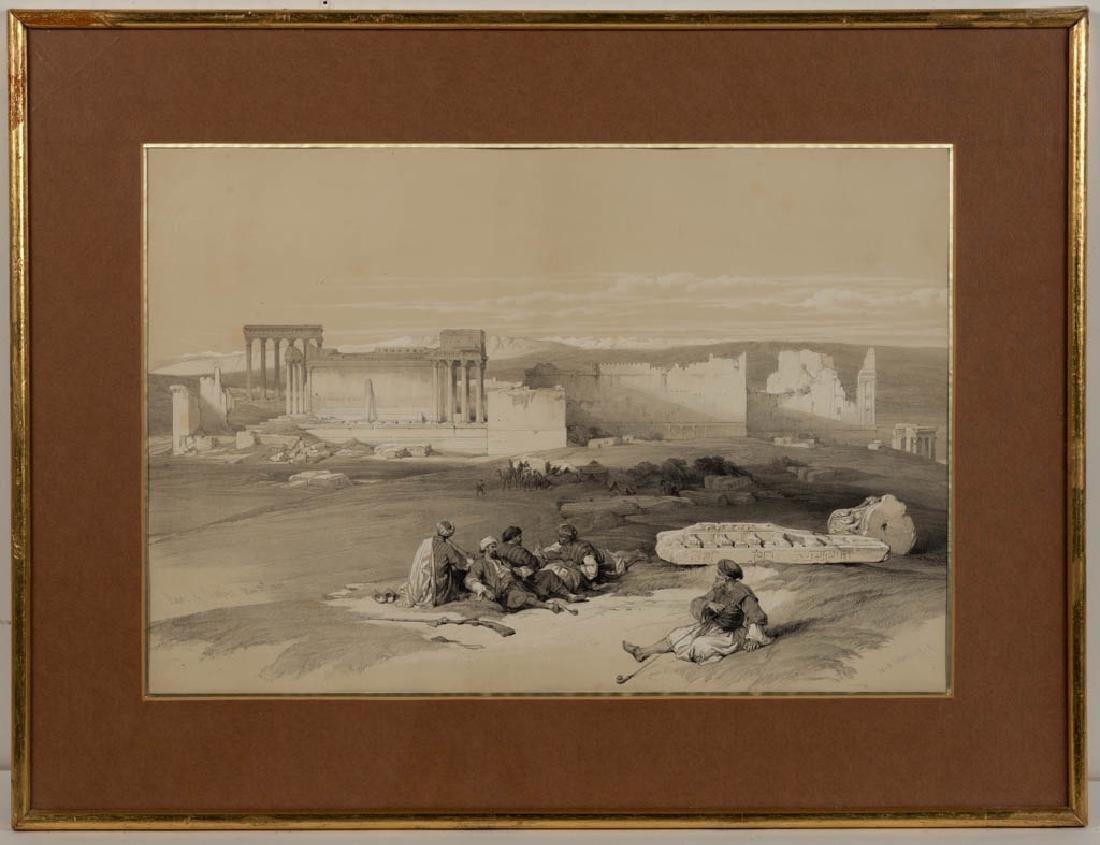 DAVID ROBERTS (BRITISH, 1796-1864) MIDDLE EASTERN