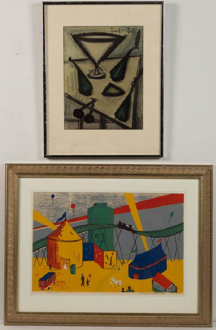 BERNARD BUFFET (FRENCH, 1928-1999) ABSTRACT STILL-LIFE