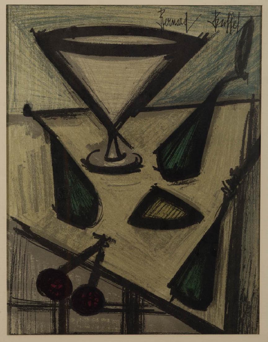 BERNARD BUFFET (FRENCH, 1928-1999) ABSTRACT STILL-LIFE - 2