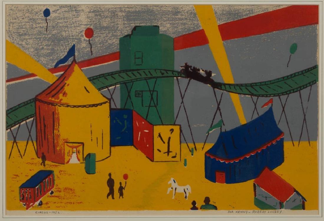 BERNARD BUFFET (FRENCH, 1928-1999) ABSTRACT STILL-LIFE - 3