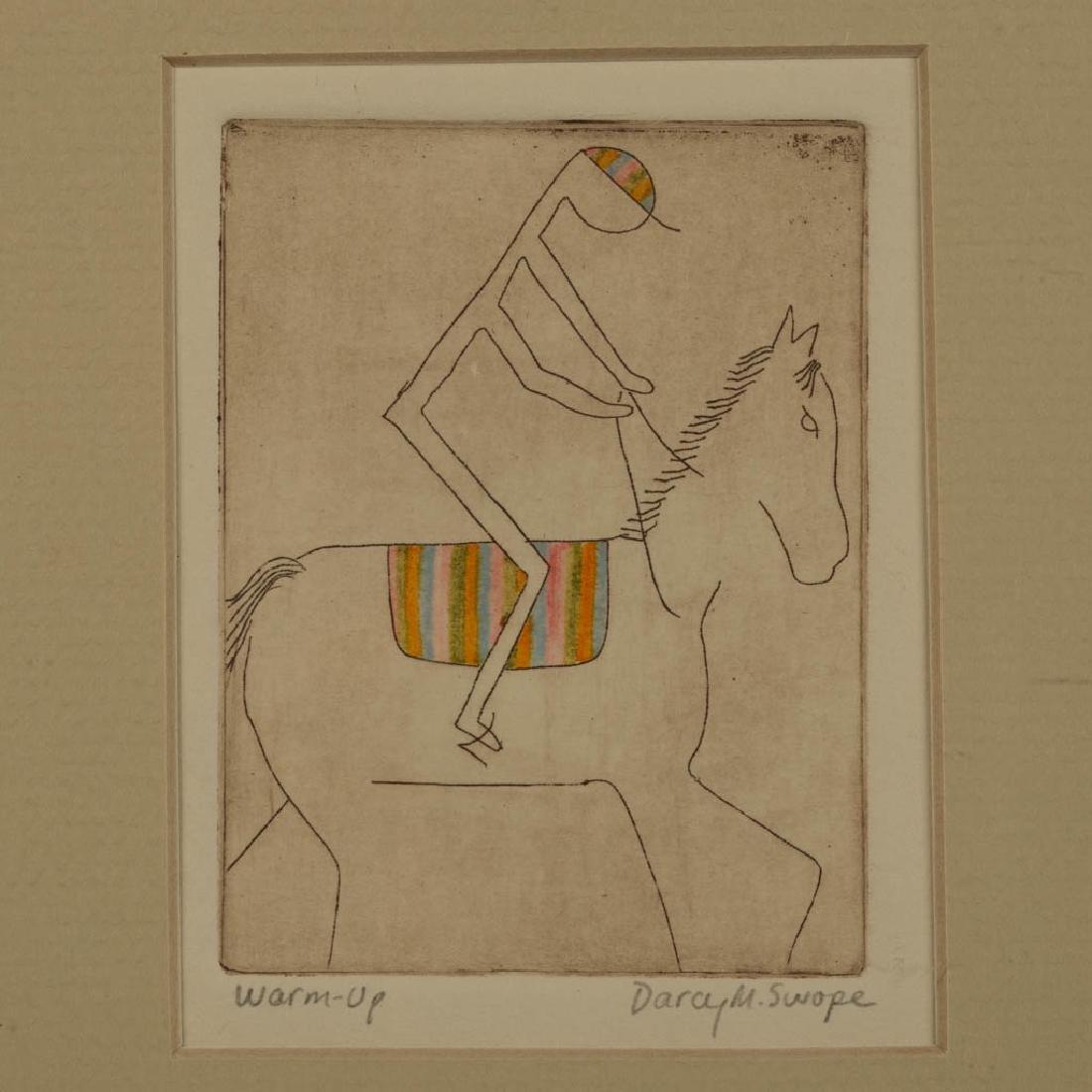 PAIR OF DARCY M. SWOPE (AMERICAN, 20TH CENTURY) - 2