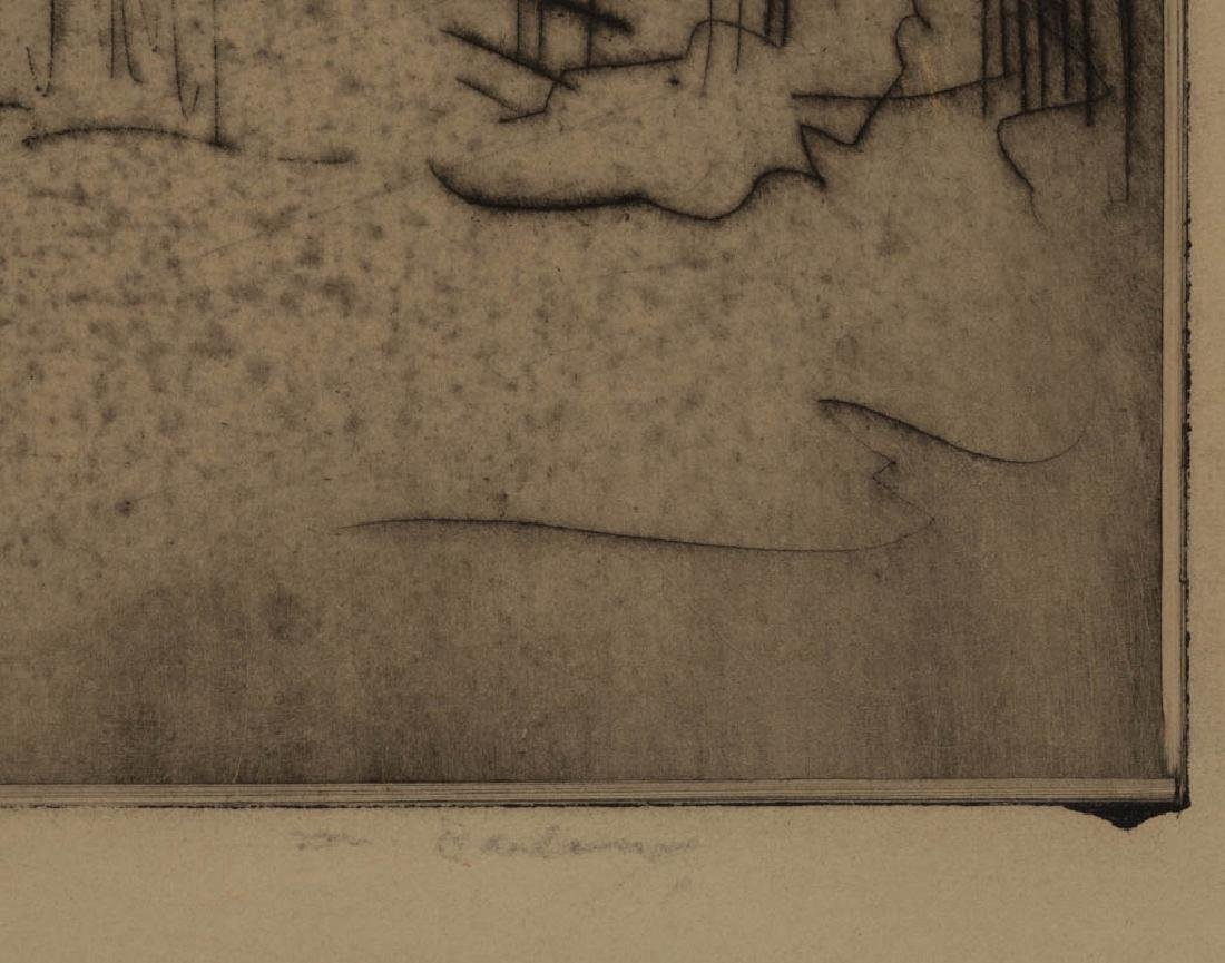 ASSORTED ABSTRACT ETCHINGS, LOT OF THREE - 4