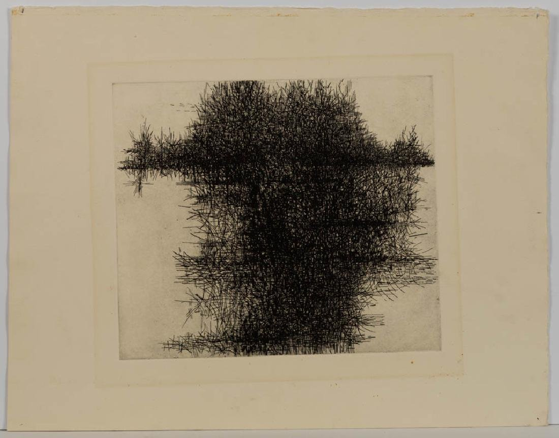 ASSORTED ABSTRACT ETCHINGS, LOT OF THREE - 5