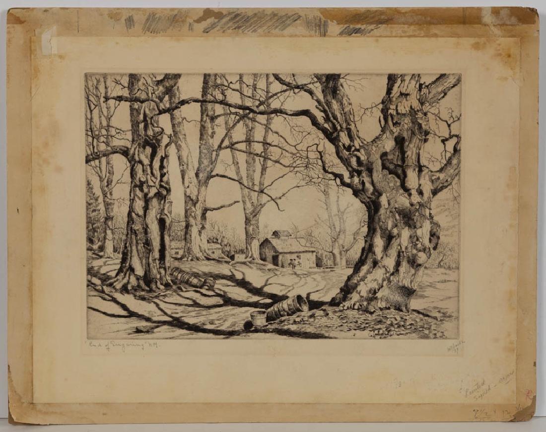 WALTER RONALD LOCKE (AMERICAN, 1883-1949) LANDSCAPE