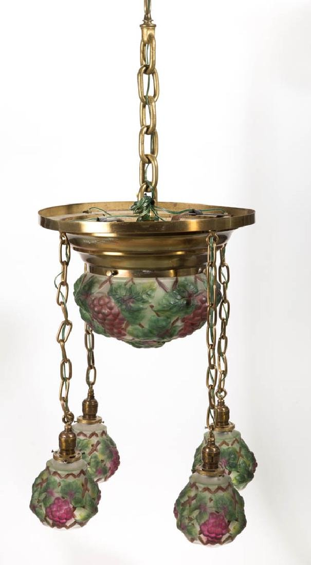 CONSOLIDATED PUFFY GRAPES CHANDELIER - 2