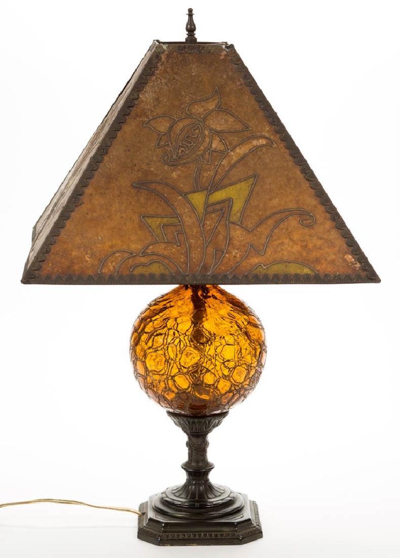 ART DECO / ARTS & CRAFTS TABLE LAMP