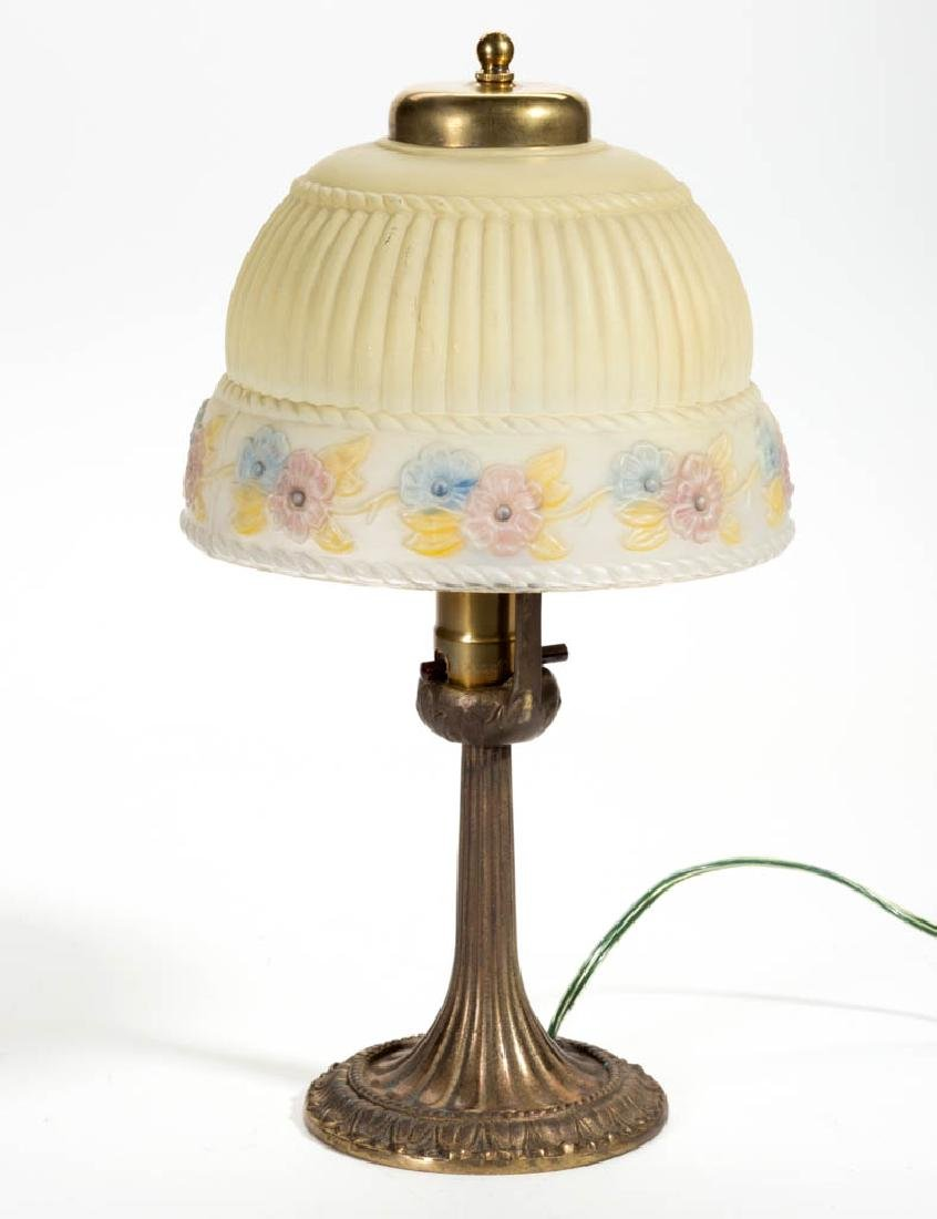 ALADDIN PORTABLE ELECTRIC BOUDOIR LAMP