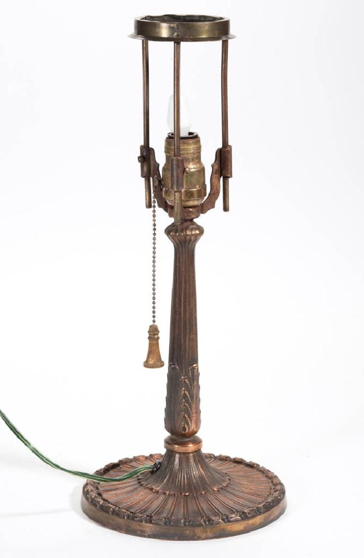 COPPER FINISHED METAL TABLE LAMP - 2