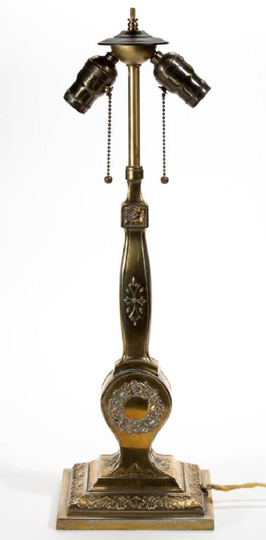 PAIRPOINT METAL ELECTRIC LAMP BASE