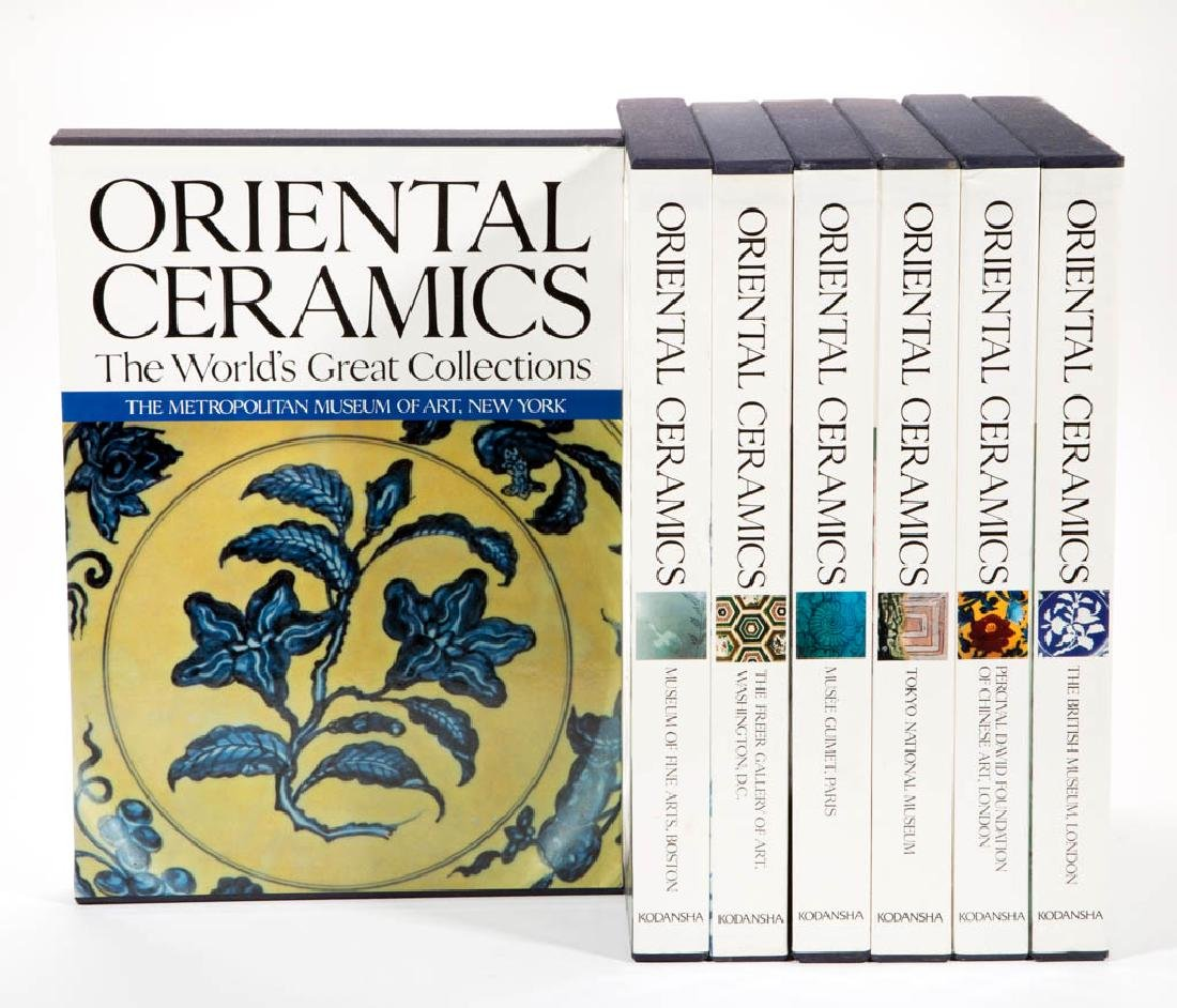 CHINESE / ASIAN CERAMICS REFERENCE VOLUMES, LOT OF