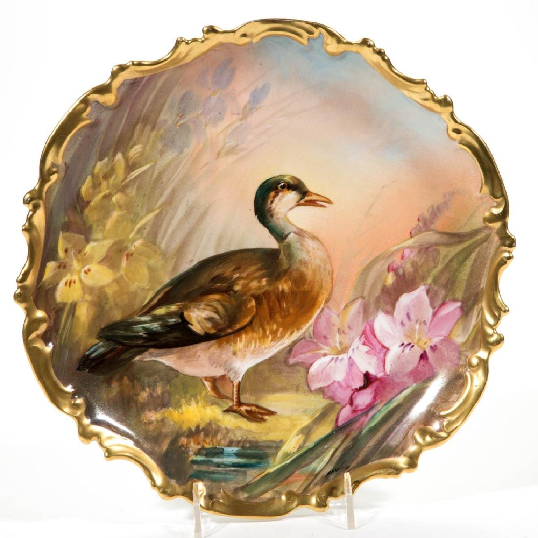 FRENCH LIMOGES PORCELAIN PLAQUE