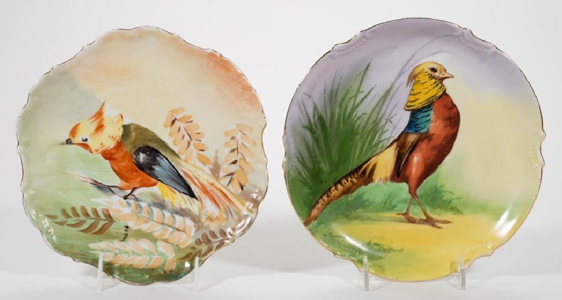 FRENCH LIMOGES PORCELAIN PLAQUES / CHARGERS