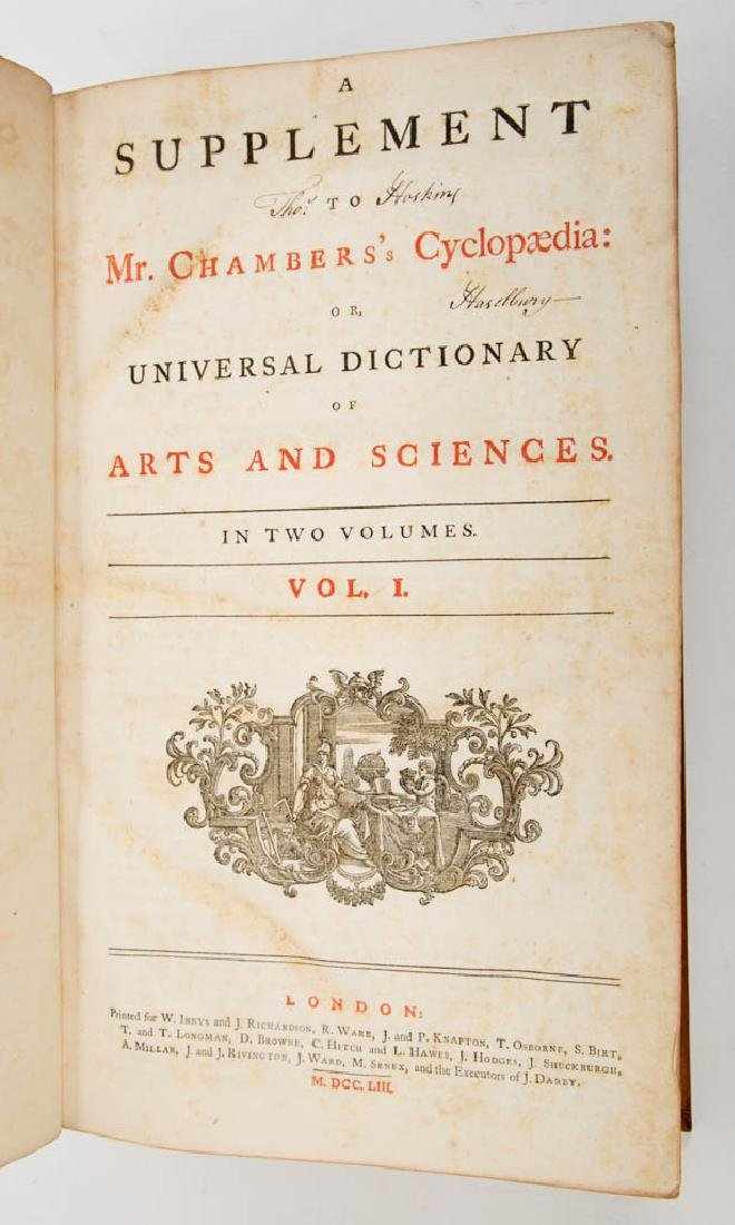 ENGLISH HISTORICAL ENCYCLOPEDIA VOLUMES, SET OF TWO