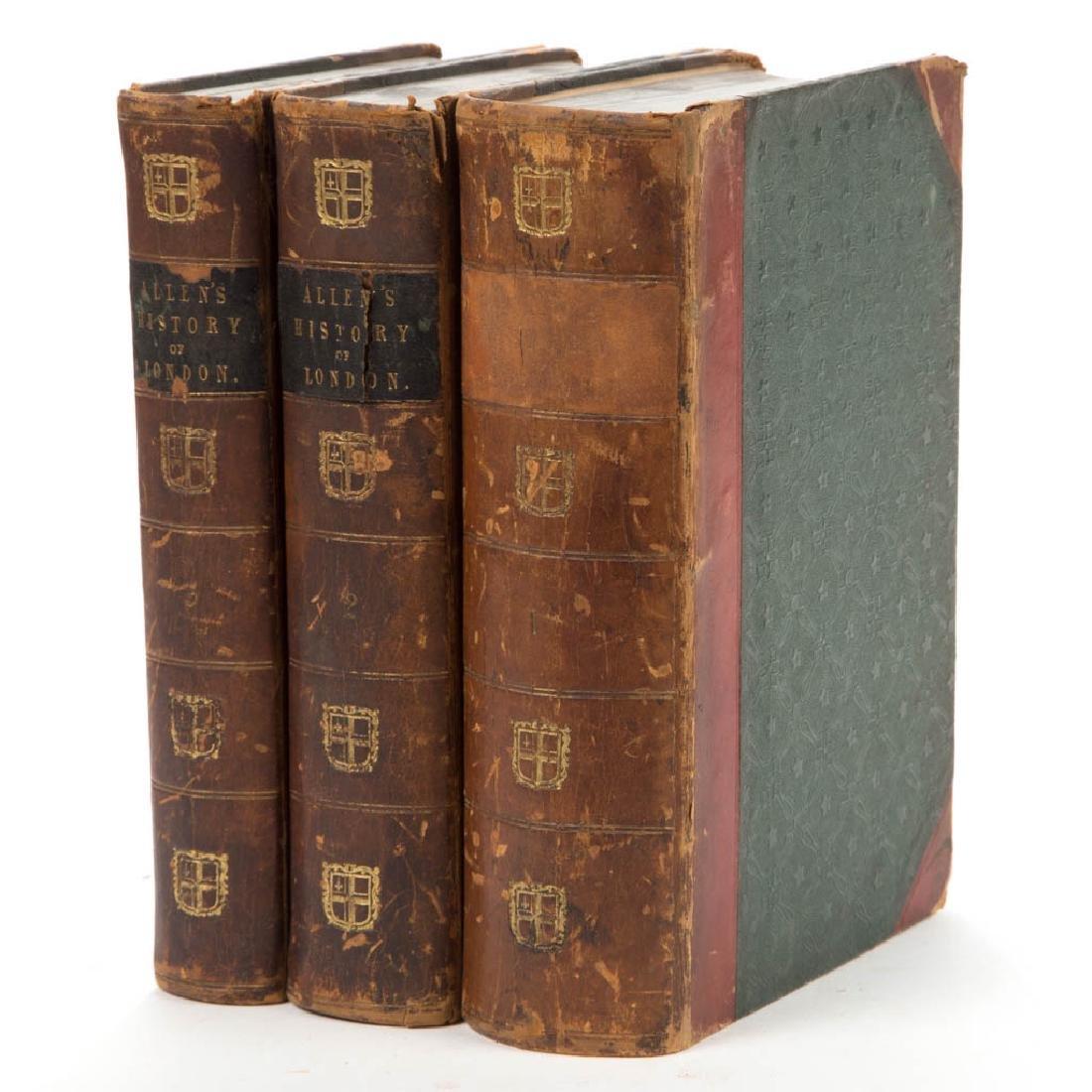ENGLISH HISTORICAL HISTORY VOLUMES, SET OF THREE