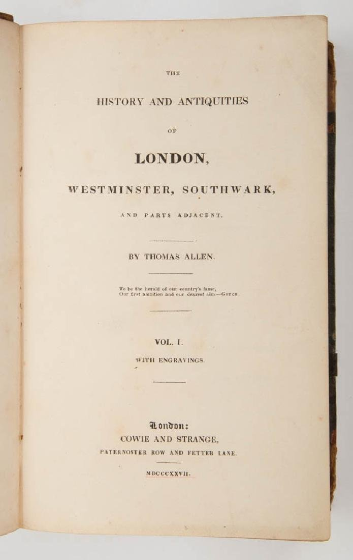 ENGLISH HISTORICAL HISTORY VOLUMES, SET OF THREE - 2