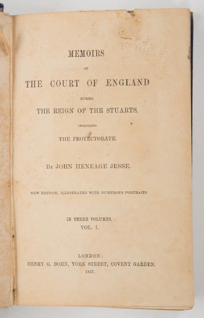 ENGLISH HISTORICAL LEGAL VOLUMES, SET OF THREE - 2
