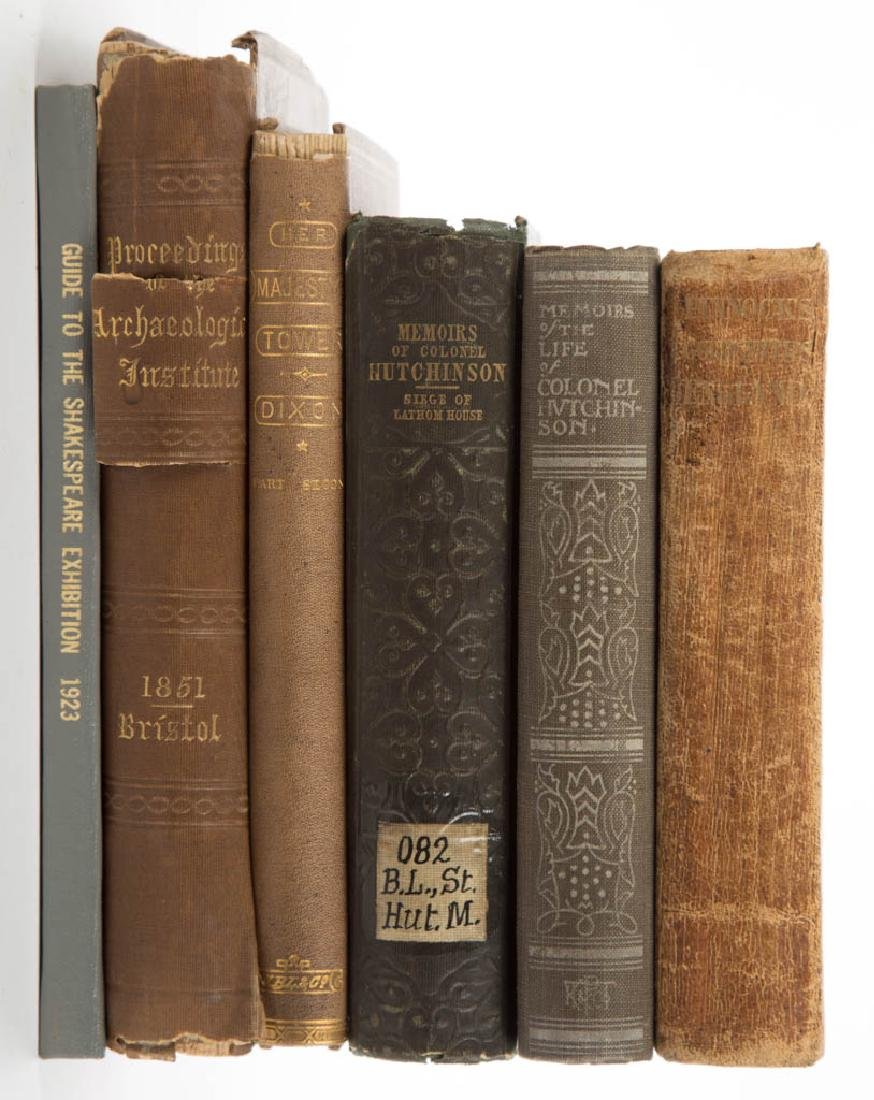 ENGLISH HISTORICAL AND RELATED HISTORY VOLUMES, LOT OF